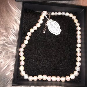 NIB Sterling Silver Pearls From London
